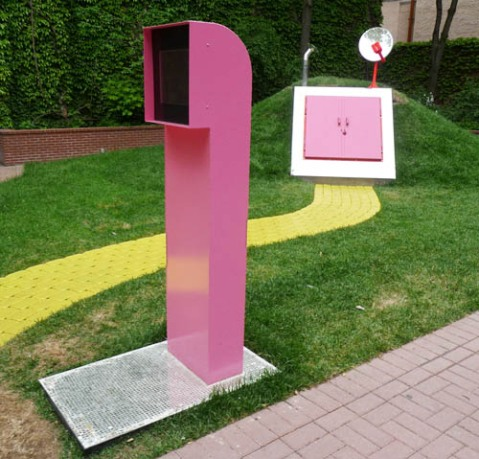 Instant Coffee, Disco Fallout Shelter, Toronto Sculpture Garden, 2009