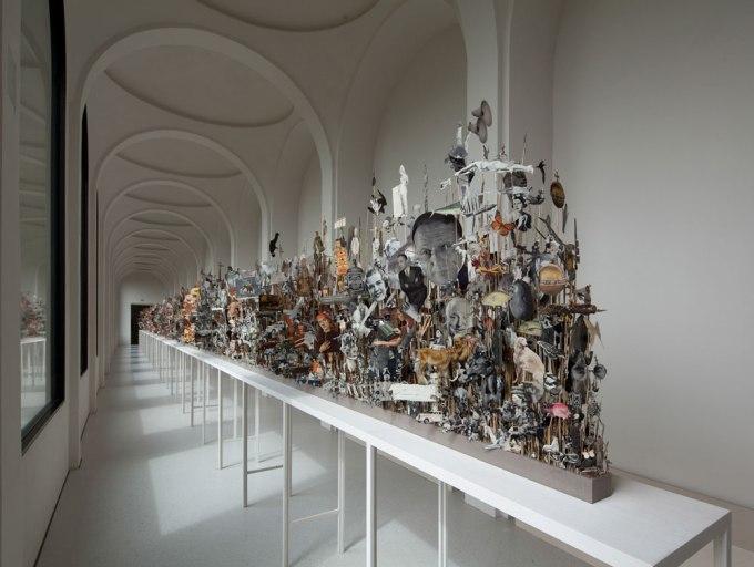 Installation view at Neue Galerie, Kassel.
